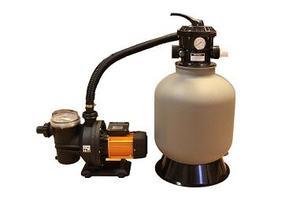 Sandfilter 45 kg sand + pump 750W