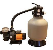 Sandfilter 75 kg sand + pump 750W